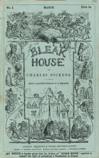 <i>Bleak House</i> novel by Charles Dickens; published 1852–1853