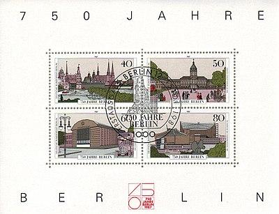 Postgeschichte Und Briefmarken Berlins Wikipedia