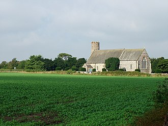 Blundeston - Image: Blundeston Church of St Mary