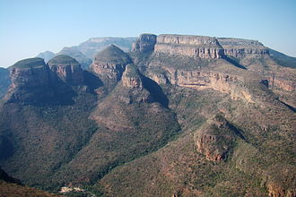 Blyde River Canyon Nature Reserve - Image: Blyde River Canyon, South Africa 2