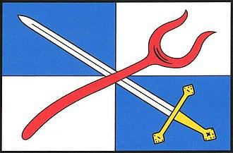 Božejov - Image: Božejov flag