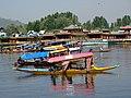 Boats on Dal Lake - Srinagar - Jammu & Kashmir - India (26210866744).jpg