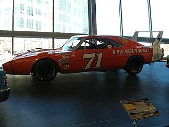 Bobby Isaac - Isaac's No. 71 at the NASCAR Hall of Fame