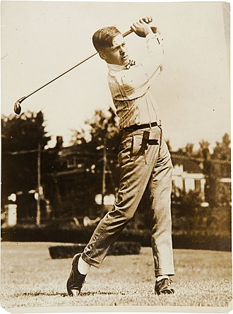 Bobby Jones (golfer) - Bobby Jones circa 1917