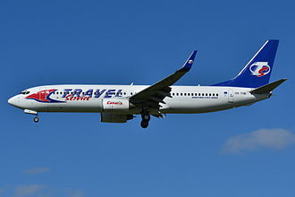 Travel Service (airline) - Travel Service Boeing 737-800