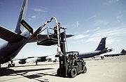 Boeing KC-135E boom drogue adapter