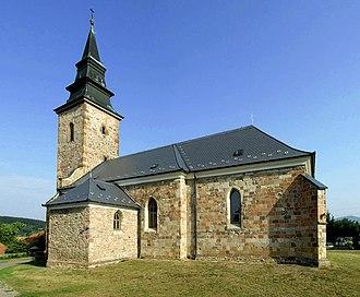Mezőkövesd District - Image: Bogács Hungary church