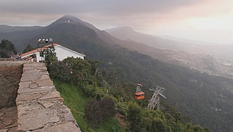 Monserrate - Image: Bogota, viewed from Monserrate (5620507403)