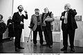 Bonaldi Giovanni, Jean Blanchaert, Arturo Schwarz, Gino Di Maggio, Milano 2014.jpg