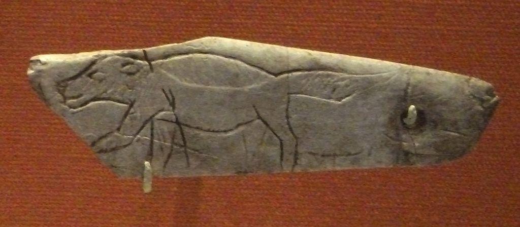 Wolverine Pendant of Les Eyzies - Prehistoric Portable Art