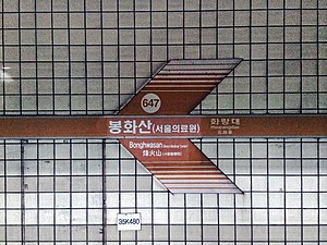 Bonghwasan Station