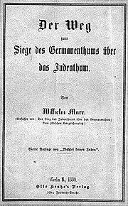 Bookcover-1880-Marr-German uber Juden