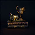 Books and pewter trophies.jpg