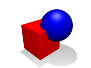 Constructive solid geometry - Union Merger of two objects into one