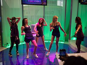 Dance Central 2 - Promotion at the Electronic Entertainment Expo 2011