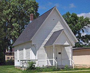 National Register of Historic Places listings in Mower County, Minnesota - Image: Booth Grand Army of the Republic Hall
