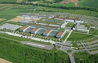 Robert Bosch GmbH - Image: Bosch Abstatt Luftbild