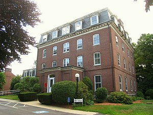 Boston Theological Institute - Image: Boston Theological Institute, Sturtevant Hall, Andover Newton Theological School IMG 0329