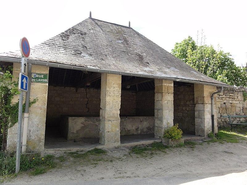 Bourguignon-sous-Montbavin (Aisne) lavoir