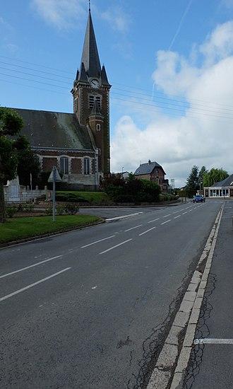Bourlon - The church of Bourlon