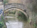 The Packhorse Bridge 100 m north west of the Church of St Mary