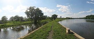 Elmer B. Boyd Park - Image: Boyd Park path