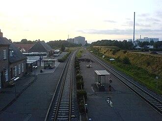 Brande - Image: Brande station