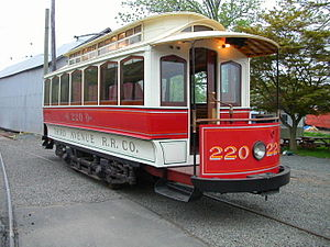 Shore Line Trolley Museum - Third Avenue Railway System 220, the oldest operating streetcar in the United States