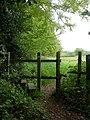 Bransgore, stile - geograph.org.uk - 1296705.jpg