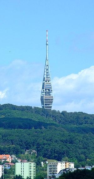 Kamzík TV Tower - The Kamzík TV Tower, overlooking Bratislava