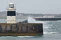 Breakwater Lighthouse, Holyhead, Holy Island (507266) (33070276475).jpg
