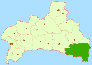 Stolin District District in Brest, Belarus