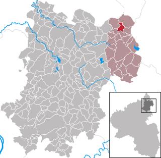 Bretthausen Place in Rhineland-Palatinate, Germany