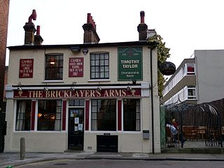 Bricklayers Arms, Putney pub in Putney, London