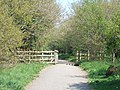 Bridge on NCN 2 near Quentance Farm - geograph.org.uk - 2375809.jpg