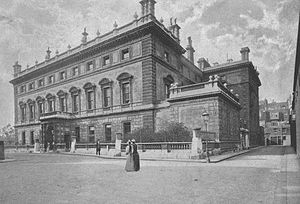 Bridgewater House, Westminster - Bridgewater House in 1896