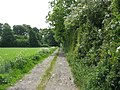 Bridleway forming the eastern limit of the Llandygai Industrial Estate - geograph.org.uk - 813199.jpg
