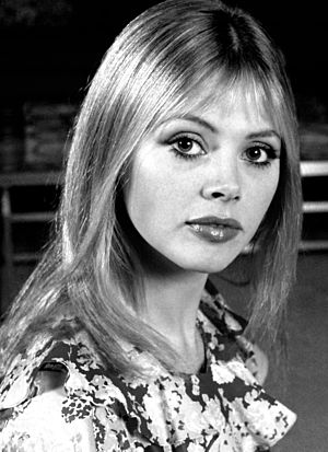 Britt Ekland - Ekland in 1972 by Allan Warren