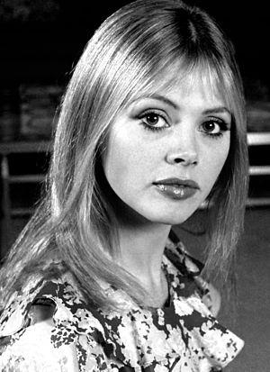 Britt Ekland - Ekland in 1972 by Allan Warren