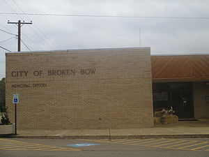 Broken Bow, Oklahoma - Broken Bow Municipal Building