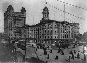 Brooklyn Borough Hall - Image: Brooklyn Borough Hall LC USZ62 92622