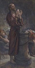 Le matin Vendredi Saint: Jésus en prison