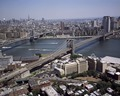 Brooklyn and Manhattan bridges from the air, New York, New York LCCN2011630157.tif