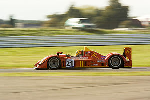 Greaves Motorsport - The Bruichladdich Radical SR9-AER at the 2007 1000 km of Silverstone.