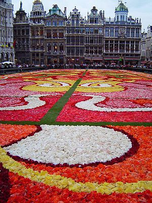 Brussels - Grand Place, Floral Carpet - 200408...