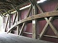 Bucher's Mill Covered Bridge Burr Arch Truss 3264px.jpg