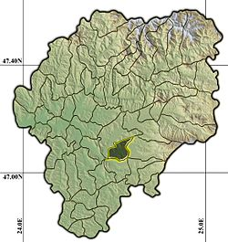 Vị trí của Budacu de Jos