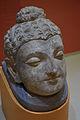 Buddha Head - Stucco - ca 2nd Century CE - Gandhara - Chir Tope Taxila - ACCN NS 4120-A10478 - Indian Museum - Kolkata 2016-03-06 1741.JPG