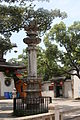 Buddhist dharani pollars, Huishan Temple, Wuxi.JPG