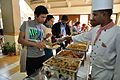 Buffet Lunch - Strategic Transformations - Museums in 21st Century - International Conference and Seminar - Science City - Kolkata 2014-02-13 2611.JPG